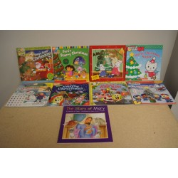 Christmas Assorted Softcover Reading Books