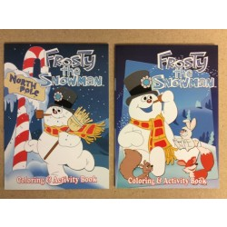 Christmas Frosy the Snowman Coloring Books ~ 2 asst