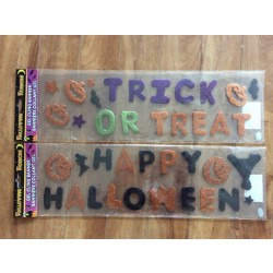 Halloween Gel Cling Banners