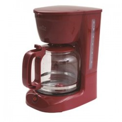 Coffee Maker - 12 Cups ~ Red