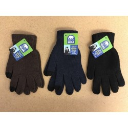 Adult Insulated 2-Finger Touch Screen Texting Gloves