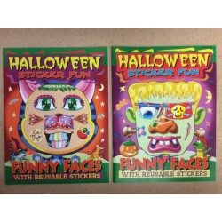 "Halloween Sticker Fun ""Funny Faces"" Sticker Book"