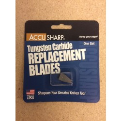 AccuSharp Knife & Tool Sharpener Replacement Blades - One Set
