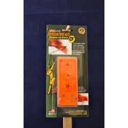 Accu Sharp Broadhead Sharpener & Wrench ~ Fluorescent Orange