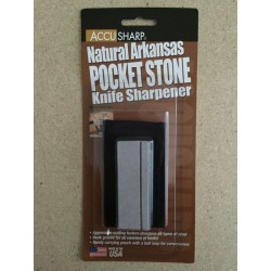 Accu Sharp Natural Arkansas Pocket Stone