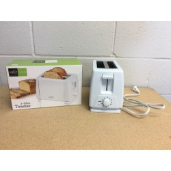 Electric 2-Slice Toaster ~ White