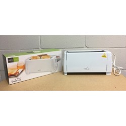 Long 4-Slice Toaster ~ White