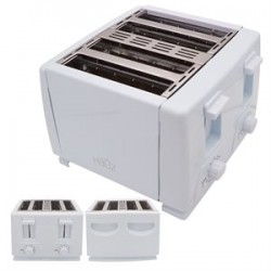 Wide 4-Slice Toaster ~ White