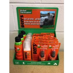 Ben's Insect Repellent - 30% Deet Wilderness Formula ~ 20 piece counter display