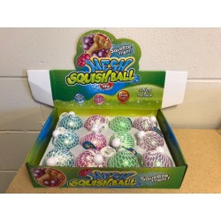 Mesh Ball with Glitter - 70mm ~ 12 per display