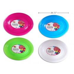 "Platter Colored Oval Platter ~ 18-3/4"""