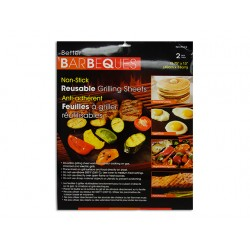 "Miracle BBQ Grilling Mat ~ 13"" x 15.75"" - 2 per pack"