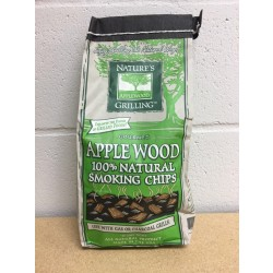 Nature's Grilling 100% Natural Wood Chips ~ APPLE WOOD