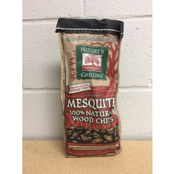 Nature's Grilling 100% Natural Wood Chips ~ MESQUITE