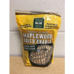 Nature's Grilling 100% Natural Wood Chips ~ MAPLE WOOD