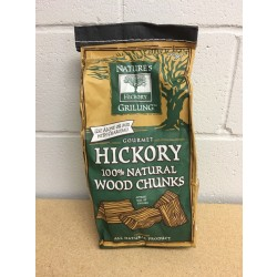 Nature's Grilling 100% Natural Wood Chunks ~ HICKORY