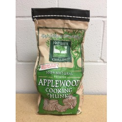 Nature's Grilling 100% Natural Wood Chunks ~ APPLE WOOD