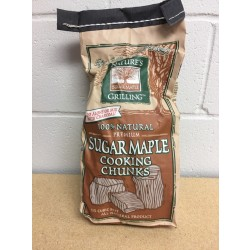 Nature's Grilling 100% Natural Wood Chunks ~ SUGAR MAPLE