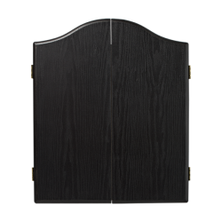 Plain Black Dartboard Cabinet
