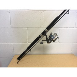 Quantum Blue Runner Saltwater Medium-Heavy Spinning Combo, 2/pc ~ 8'0""
