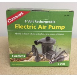 Coghlan's 6 Volt Rechargeable Air Pump