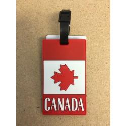 """Canada Luggage Tag ~ 4.5"""" x 2.5"""""""