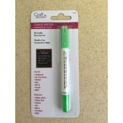 Craft Decor Chalk Writer ~ Neon Green