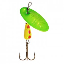 Panther Martin Lure - Size 9 ~ Classic Colors Chartruese