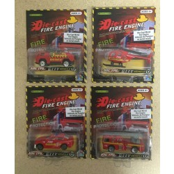 Die-Cast Fire Vehicles ~ 4 assorted