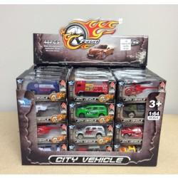 Die-Cast City Vehicles