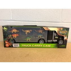 Dinosaur Truck Carrier ~ with 6 Dinosaurs