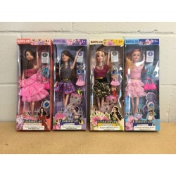 "11.5"" Fashion Doll ~ 4 assorted"