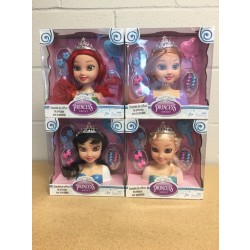 "12"" Princess Hair Styling Play Set"