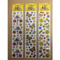 Woody's Micro Stickers ~ Smiley Faces