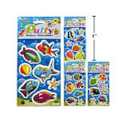 Woody's Puffy Stickers ~ Fish