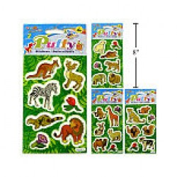 Woody's Puffy Stickers ~ Animals