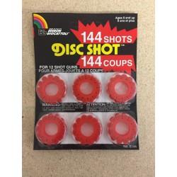 12-Shot Disc Caps ~ 12 discs per pack