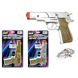 8-Shot Cap Gun ~ Silver