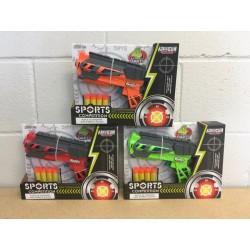 Toy Air Gun w/4 Suction Bullets