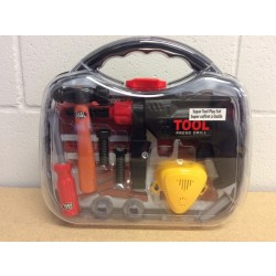 Super Tool Play Set w/Carry Case