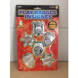 Play Badges ~ 6 per pack