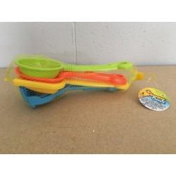 "Beach Tools Playset - 9.5""L ~ 4 pieces"