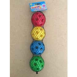 Plastic Baseballs ~ 4 per pack