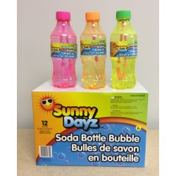 Soda Pop Bottle Bubbles ~ 250ml bottle