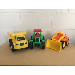 Deluxe Large Plastic Trucks ~ 3 assorted