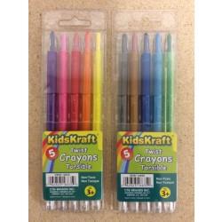 Twist Crayons ~ 5 per pack