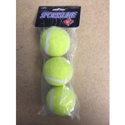 Tennis Balls - Low Bounce ~ 3 per pack
