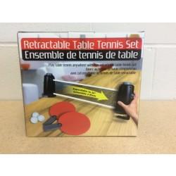 Retractable Table Tennis Set
