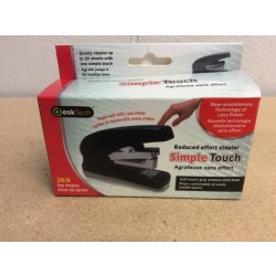 "Simple Touch 6.5"" Desktop Stapler"