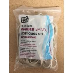 Rubber Bands #64 - natural color ~ 1/4lb bag